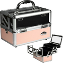 Sunrise C0009PPPK Pink Clear Makeup Case - C0009