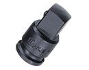 "Genius Tools 3/8"" Dr. Impact Adapter 3/8""F X 1/2""M w/Steel Ball (CR-Mo) - 340040B"