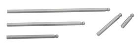 "Genius Tools 4536 1/4"" Hex Shank, 6mm Metric Wobble Hex Screwdriver Bits 88mmL"