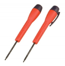 "Genius Tools 1/20"" Micro-Tech Hex Screwdriver, 122mmL - 524403"