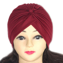 ALICE Fashion Turban Head Wrap Pleated Head Cover Headband Chemo Cap Sun Cap