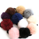 ALICE 12 Pcs Fluffy Ball Pom Pom Scrunchies Elastic Ponytail Holder