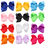 Alice Boutique Girls Windmill Style Hair Bow Alligator Clips(Pack of 24)