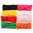 Alice Baby Bowknot Headbands Rabbit Ear Hair Bow Tie Bands (Pack of 8)