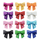 GOGO 12Pcs Solid Color Baby Girls Sequin Toddler Hair Bow Snap Alligator Clips Barrettes 2 inches