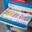 Health Care Logistics - Drawer Organizing Divider Set White 2 in