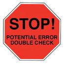 Health Care Logistics - High Alert Stop Labels