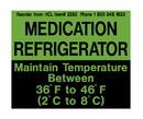 Health Care Logistics - Refrigerator Magnet