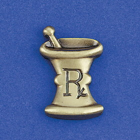 Health Care Logistics - Mortar and Pestle Lapel Pin