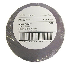 3M 3M5XNHBS 080 300D Stikit Alum Oxide J-Wt Cloth, Price/EA