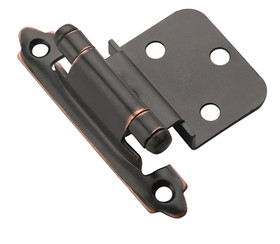 Hinge 3/8in Inset SC OIL RUB BRONZE, Price/PR