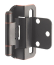 Hinge 3/8in Inset OIL RUBBED BRONZE