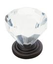 Knob 1-1/4in Acrylc Trdtnl Clsc ORB