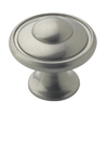 Amerock BP53002G10 Knob 1-3/16in SATIN NICKEL