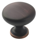 Amerock BP53005-ORB Knob 1-1/4in OIL RUBBED BRONZE
