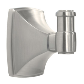 Amerock Robe Hook SATIN NICKEL, Price/EA