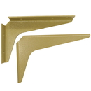 Shelf Support Brackets 5x8 ALMOND
