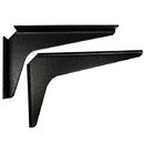 Shelf Support Brackets 8x12 BLACK