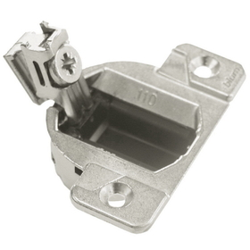 110 Deg Face Frame Hinge SC NICKEL, Price/EA