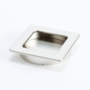 Pull 64X64mm Recess BRUSHED NICKEL