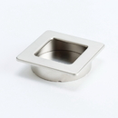 Pull 50X50mm Recess BRUSHED NICKEL