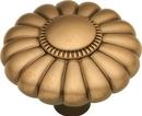 Belwith G3-15R Knob 1-1/2in SOL BRS/WELLINGTON BRZ