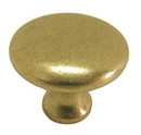 Belwith P14255-LB Knob 1-1/8in LUSTER BRASS DC