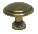 Belwith P14848-LB Knob 1-3/8in LUSTER BRASS DC