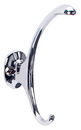 Belwith P27325-CH Hook SOLID BRASS CHROME