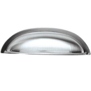 Belwith P3077-SS Cup Pull 3in C/C STAINLESS STEEL