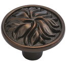 Belwith P3093-RB Knob 1-3/8in Dia REFINED BRONZE