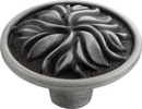 Belwith P3093-SPA Knob 1-3/8in SATIN PEWTER ANTIQUE
