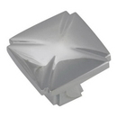 Belwith P3230-CH Knob Square 1-3/16in CHROME