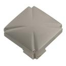 Belwith P3230-SN Knob Square 1-3/16in SATIN NICKEL