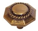 Belwith P3453-ARG Knob 1-3/16in ANTIQUE ROSE GOLD