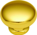 Belwith P771-3 Knob 1-1/4in POLISHED BRASS