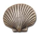 Belwith PA0112-VP Knob 1-1/2in Fan Shell VIBRA PWT DC
