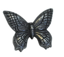 Belwith PA1513-VP Knob 2in Butterfly VIBRA PEWTER DC