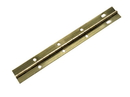 1-1/2x72in Continuous Hinge P-BRASS