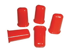 Red Cap For Glu Bot 5 Per Package