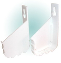 EndCaps f/Cut-To-Size SinkTray WH