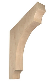 Corbel 8.5x8.5x1.25 keyhole CHERRY, Price/EA
