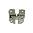 Pie-Cut Corner Hinge NICKEL