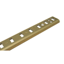 18in ALUMINUM Shelf Standard BRASS
