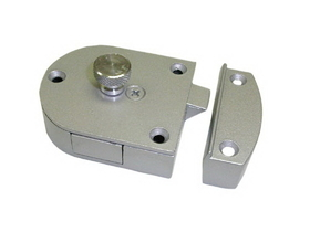 Secret Gate Latch ALUMINUM                                                 , Price/EA