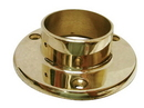 2in Wall Flange POL BRASS