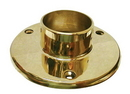 2in Floor Flange POL BRASS