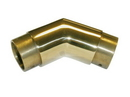 2in 135 Deg Flush Elbow POL BRASS