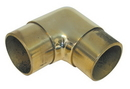2in Sq Flush Elbow 90 Deg POL BRASS