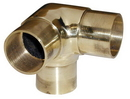 2in Flush Side Outlet Ell POL BRASS